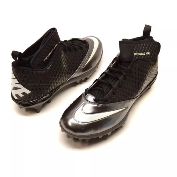 premium selection 0939e 186bb Nike Lunar Superbad pro football mid Cleats 12.5. NWT. Nike.  M 5c30d54a8ad2f9cea2d25d4f. M 5c30d572a5d7c60efe71b248.  M 5c30d575a5d7c6450b71b25b